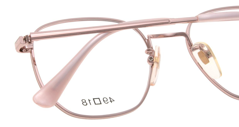 ブイオーシー NO1218-PK-49 [メタル/鯖江産/ウェリントン/ピンク]  4