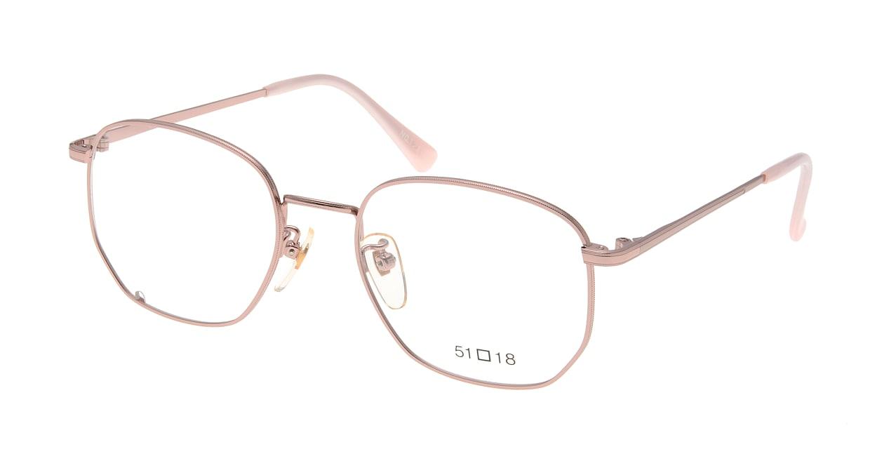 ブイオーシー NO1218-PK-51 [メタル/鯖江産/ウェリントン/ピンク]