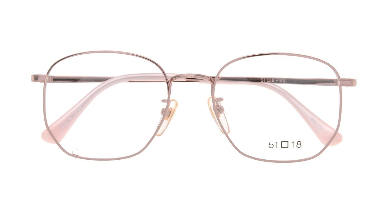 ブイオーシー NO1218-PK-51 [メタル/鯖江産/ウェリントン/ピンク]  3