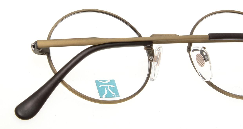 元 GEN-265-ATG-46 [メタル/鯖江産/丸メガネ/グレー]  4