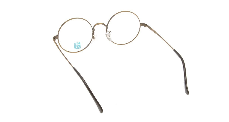 元 GEN-265-ATG-50 [メタル/鯖江産/丸メガネ/グレー]  2