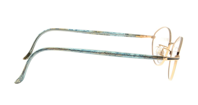 シルエット M6537-V6051 [メタル/オーバル/ゴールド]  1