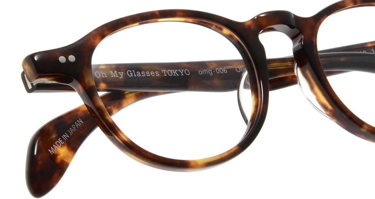 Oh My Glasses TOKYO Oliver omg-006 2-47 [鯖江産/丸メガネ/べっ甲柄]  4