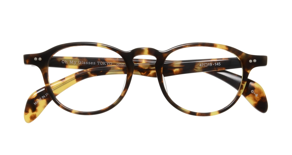 Oh My Glasses TOKYO Oliver omg-006 4-47 [鯖江産/丸メガネ/べっ甲柄]  3
