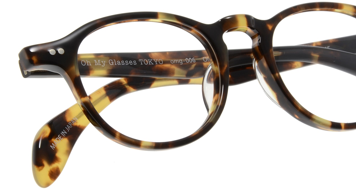 Oh My Glasses TOKYO Oliver omg-006 4-47 [鯖江産/丸メガネ/べっ甲柄]  4