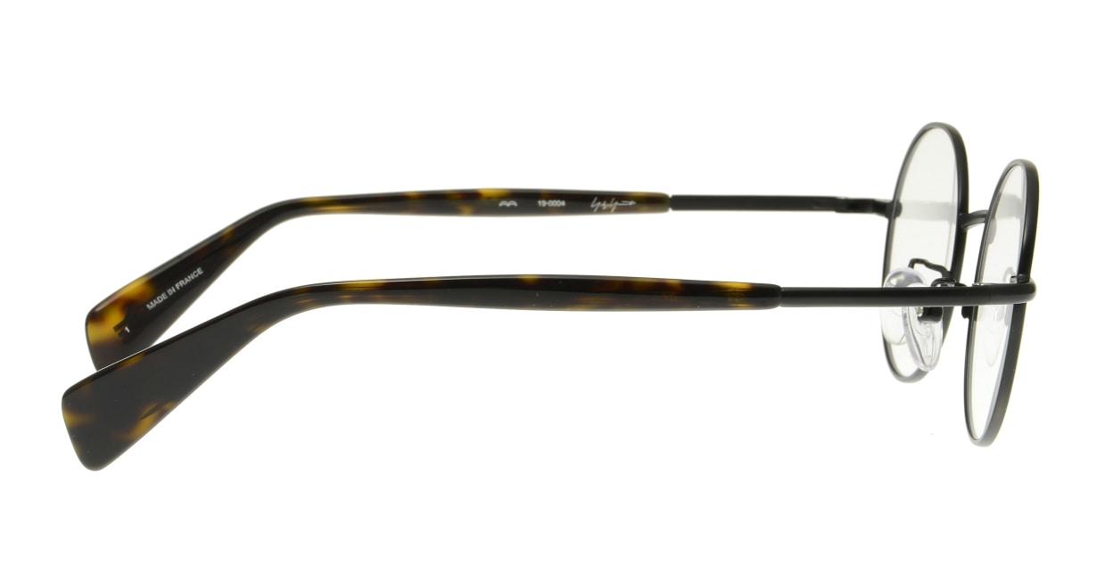 ヨウジヤマモト 19-0004-1 Black matt [メタル/丸メガネ]  1