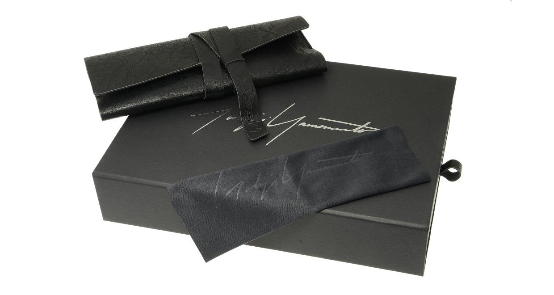 ヨウジヤマモト 19-0004-1 Black matt [メタル/丸メガネ]  5