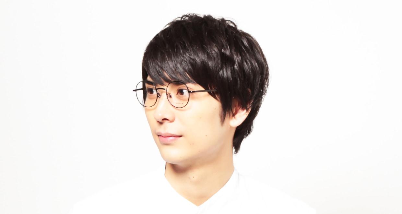 ヨウジヤマモト 19-0004-1 Black matt [メタル/丸メガネ]  7