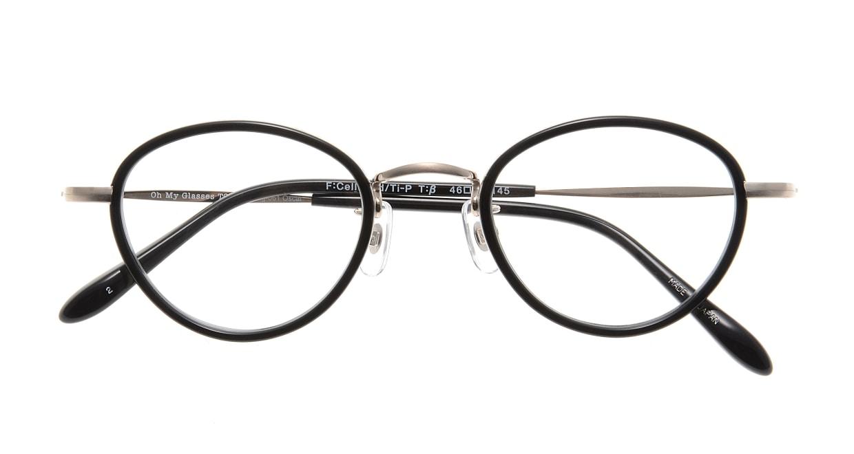 Oh My Glasses TOKYO Oscar omg-061 2-46 [黒縁/鯖江産/丸メガネ]  3