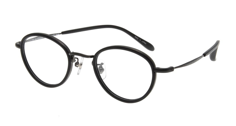 Oh My Glasses TOKYO Oscar omg-061 3-46 [黒縁/鯖江産/丸メガネ]