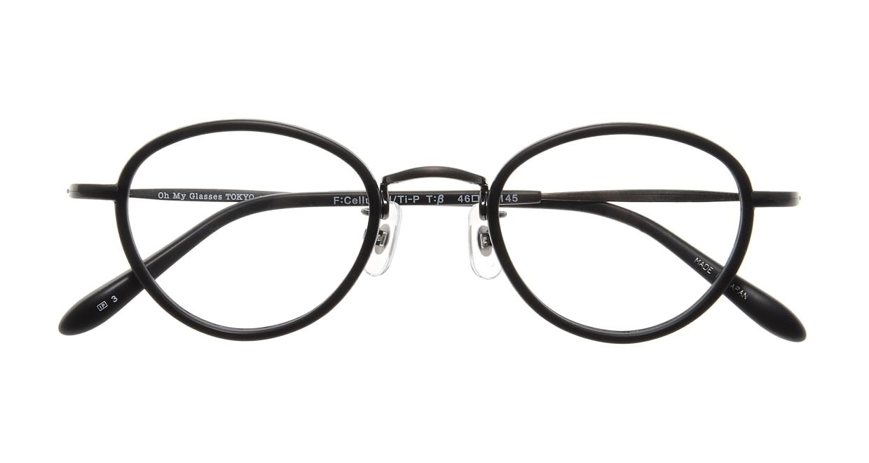 Oh My Glasses TOKYO Oscar omg-061 3-46 [黒縁/鯖江産/丸メガネ]  3