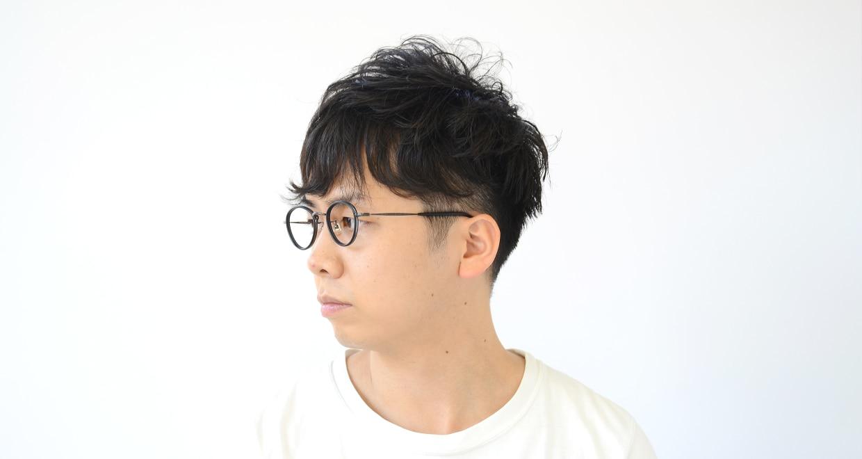 Oh My Glasses TOKYO Oscar omg-061 3-46 [黒縁/鯖江産/丸メガネ]  7