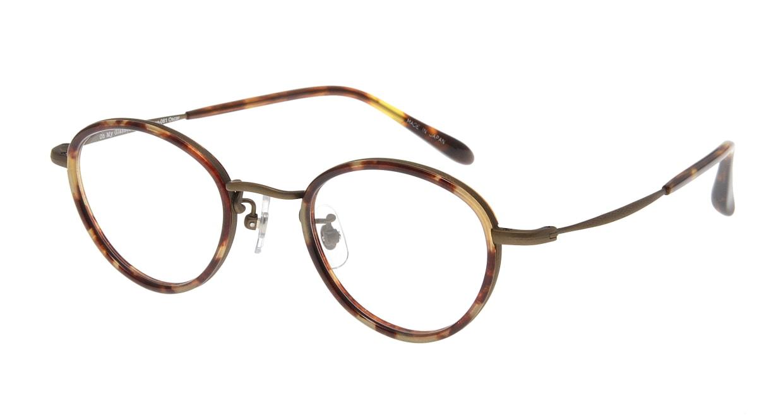 Oh My Glasses TOKYO Oscar omg-061 4-46 [鯖江産/丸メガネ/べっ甲柄]