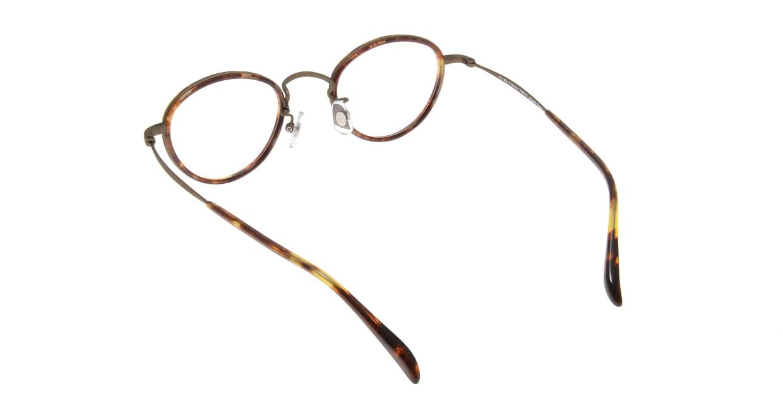 Oh My Glasses TOKYO Oscar omg-061 4-46 [鯖江産/丸メガネ/べっ甲柄]  2