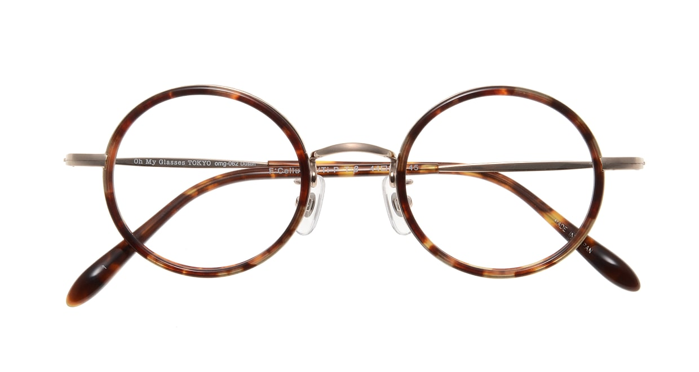 Oh My Glasses TOKYO Dustin omg-062 1-44 [鯖江産/丸メガネ/べっ甲柄]  3