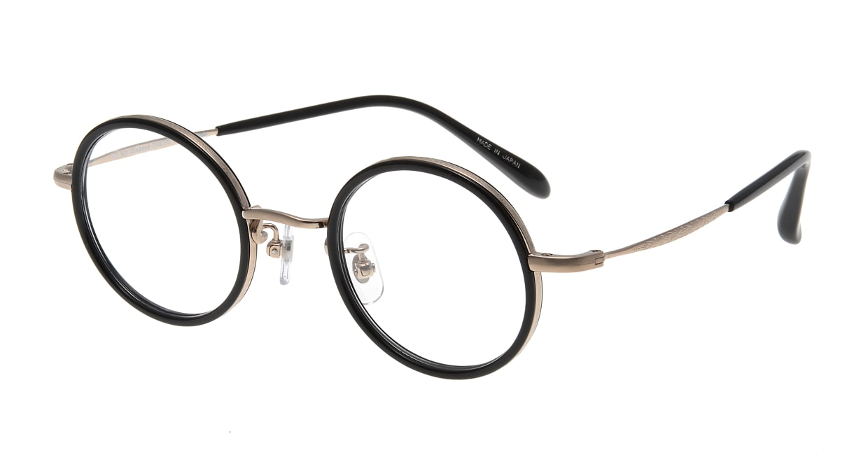 Oh My Glasses TOKYO Dustin omg-062 2-44 [黒縁/鯖江産/丸メガネ]