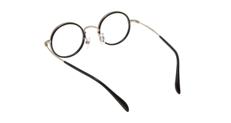 Oh My Glasses TOKYO Dustin omg-062 2-44 [黒縁/鯖江産/丸メガネ]  2