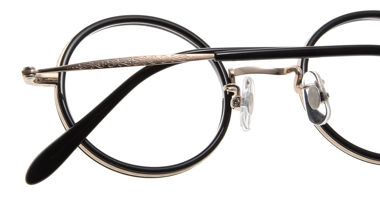 Oh My Glasses TOKYO Dustin omg-062 2-44 [黒縁/鯖江産/丸メガネ]  5