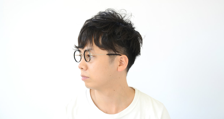 Oh My Glasses TOKYO Dustin omg-062 2-44 [黒縁/鯖江産/丸メガネ]  7