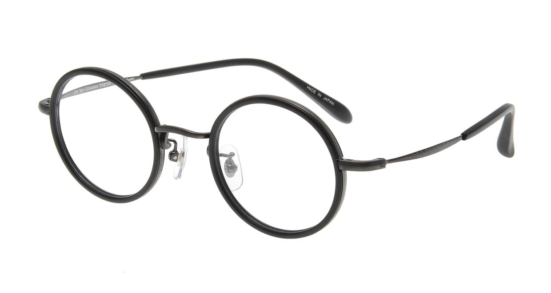 Oh My Glasses TOKYO Dustin omg-062 3-44 [黒縁/鯖江産/丸メガネ]