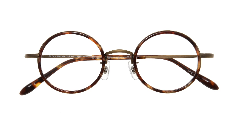 Oh My Glasses TOKYO Dustin omg-062 4-44 [鯖江産/丸メガネ/べっ甲柄]  3