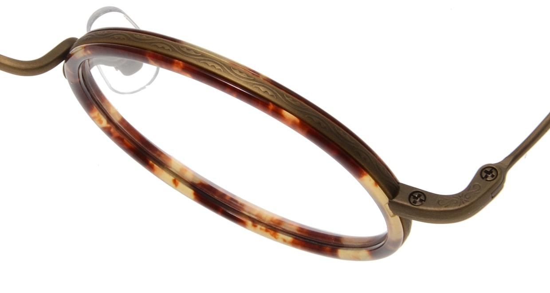 Oh My Glasses TOKYO Dustin omg-062 4-44 [鯖江産/丸メガネ/べっ甲柄]  4