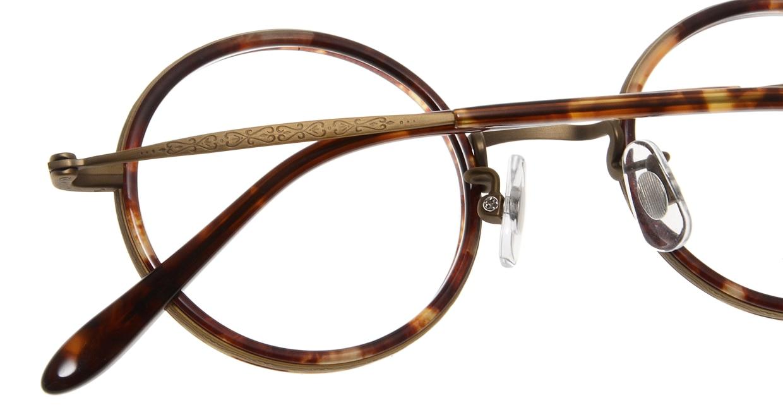 Oh My Glasses TOKYO Dustin omg-062 4-44 [鯖江産/丸メガネ/べっ甲柄]  5