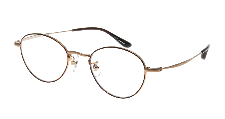 Oh My Glasses TOKYO George omg-063 32-14 [メタル/鯖江産/丸メガネ/べっ甲柄]