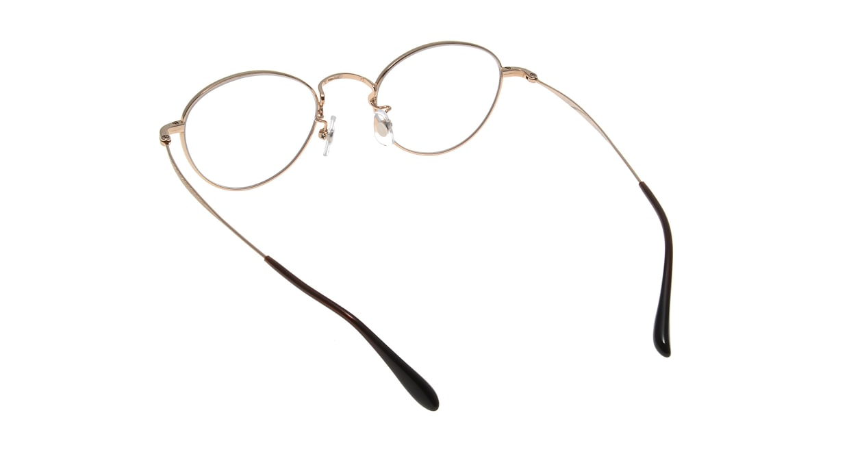Oh My Glasses TOKYO George omg-063 32-14 [メタル/鯖江産/丸メガネ/べっ甲柄]  2
