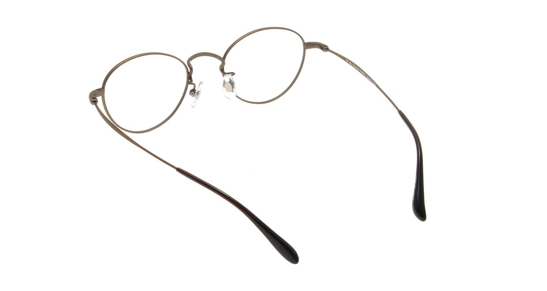 Oh My Glasses TOKYO George omg-063 12-12 [メタル/鯖江産/丸メガネ/茶色]  2