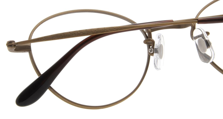 Oh My Glasses TOKYO George omg-063 12-12 [メタル/鯖江産/丸メガネ/茶色]  4