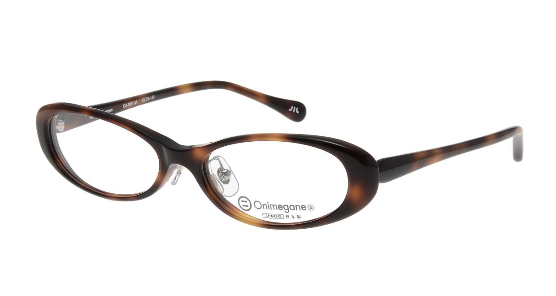 オニメガネ OG7804-DA [鯖江産/オーバル/べっ甲柄]  1