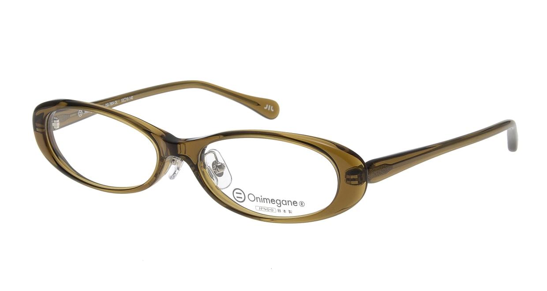 オニメガネ OG7804-OL [鯖江産/オーバル/緑]  1