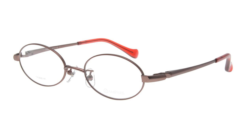 アミパリ TR-8600-3-49 [メタル/鯖江産/オーバル/ピンク]
