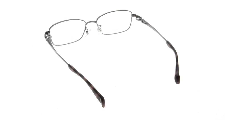 アミパリ TR-8603-25-54 [メタル/鯖江産/スクエア/グレー]  2