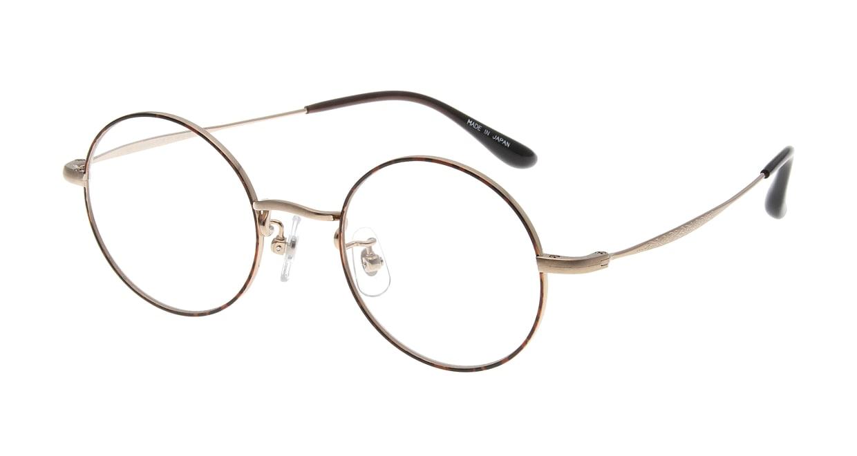 Oh My Glasses TOKYO Neal omg-067 1-47 [メタル/鯖江産/丸メガネ/べっ甲柄]