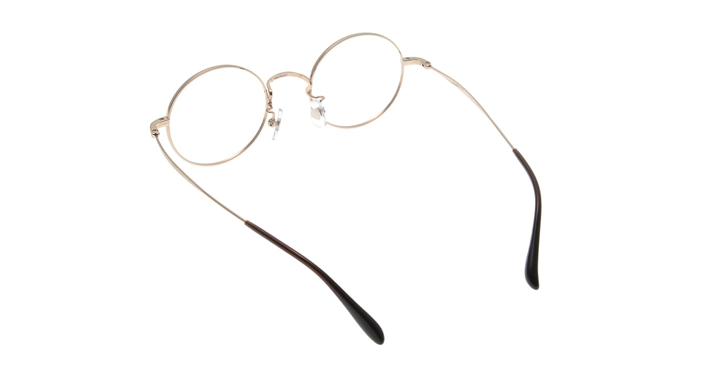 Oh My Glasses TOKYO Neal omg-067 1-47 [メタル/鯖江産/丸メガネ/べっ甲柄]  2