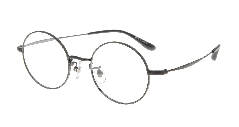 Oh My Glasses TOKYO Neal omg-067 3-47 [メタル/鯖江産/丸メガネ/グレー]