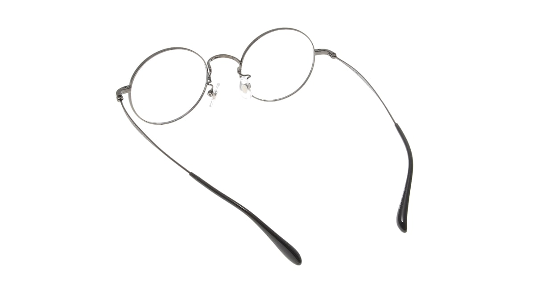 Oh My Glasses TOKYO Neal omg-067 3-47 [メタル/鯖江産/丸メガネ/グレー]  2