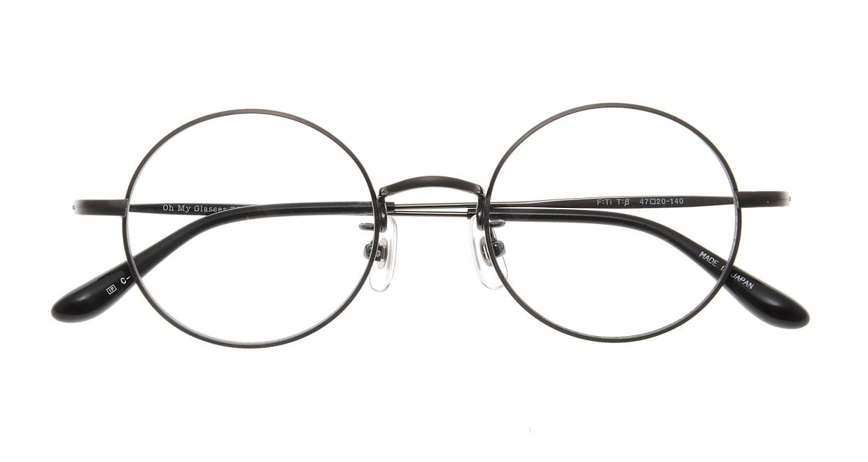 Oh My Glasses TOKYO Neal omg-067 3-47 [メタル/鯖江産/丸メガネ/グレー]  3