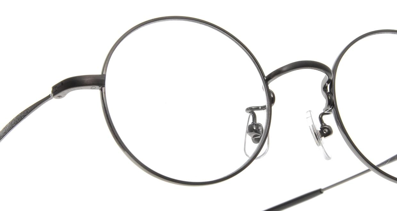 Oh My Glasses TOKYO Neal omg-067 3-47 [メタル/鯖江産/丸メガネ/グレー]  4
