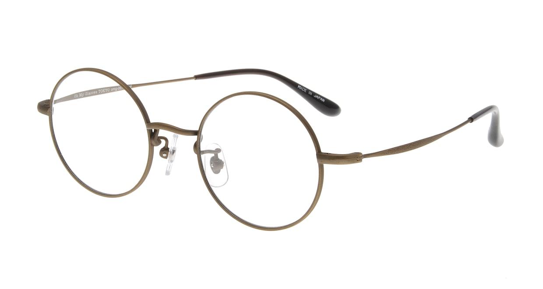 Oh My Glasses TOKYO Neal omg-067 4-47 [メタル/鯖江産/丸メガネ/茶色]