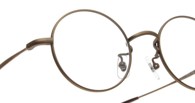 Oh My Glasses TOKYO Neal omg-067 4-47 [メタル/鯖江産/丸メガネ/茶色]  4