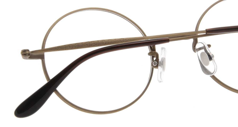 Oh My Glasses TOKYO Neal omg-067 4-47 [メタル/鯖江産/丸メガネ/茶色]  5
