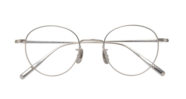 Oh My Glasses TOKYO Cecil omg-064 2-47 [メタル/鯖江産/丸メガネ/シルバー]  3