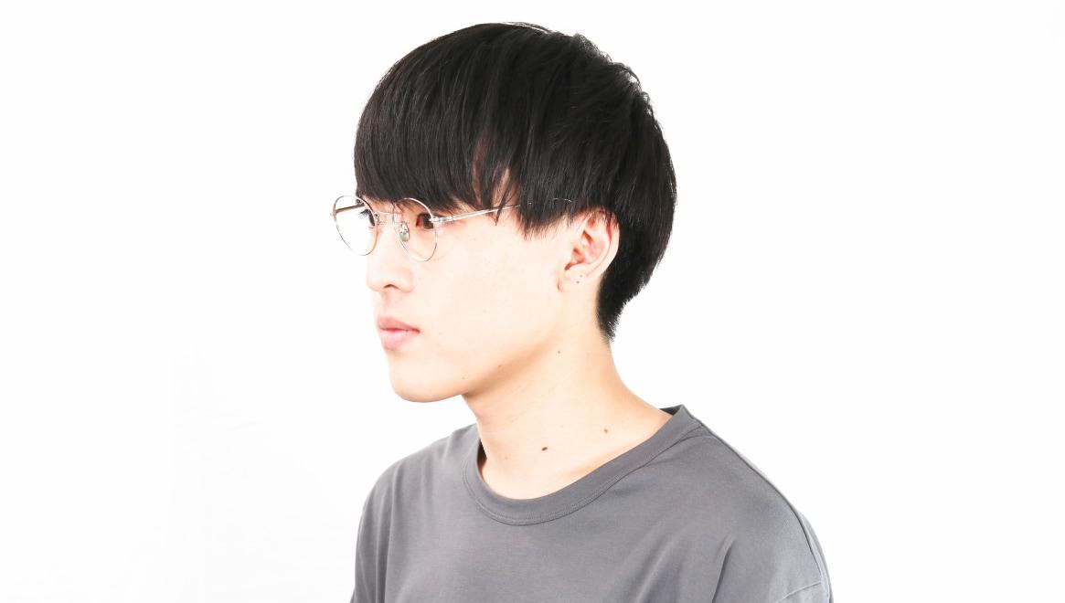 Oh My Glasses TOKYO Cecil omg-064 2-47 [メタル/鯖江産/丸メガネ/シルバー]  6