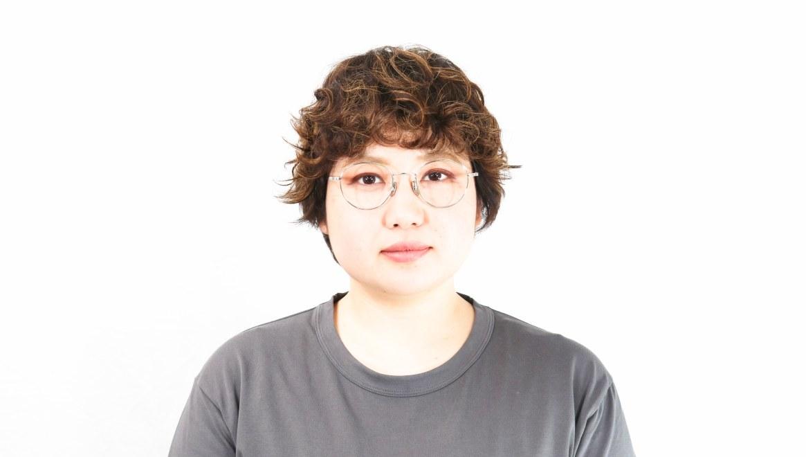 Oh My Glasses TOKYO Cecil omg-064 2-47 [メタル/鯖江産/丸メガネ/シルバー]  7