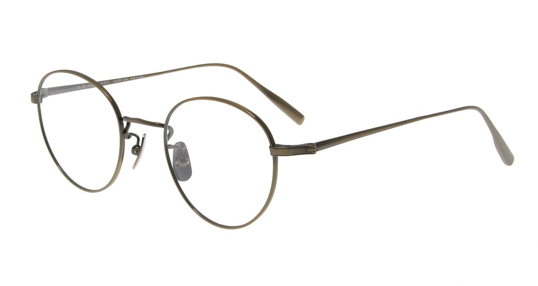 Oh My Glasses TOKYO Cecil omg-064 3-47 [メタル/鯖江産/丸メガネ/ゴールド]