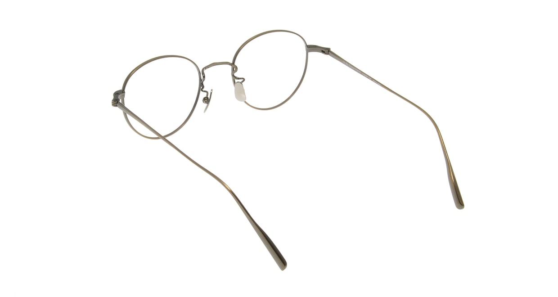 Oh My Glasses TOKYO Cecil omg-064 3-47 [メタル/鯖江産/丸メガネ/ゴールド]  2