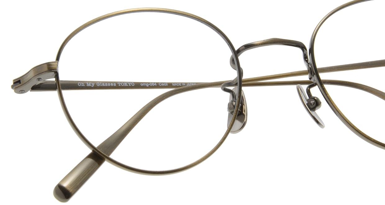 Oh My Glasses TOKYO Cecil omg-064 3-47 [メタル/鯖江産/丸メガネ/ゴールド]  4